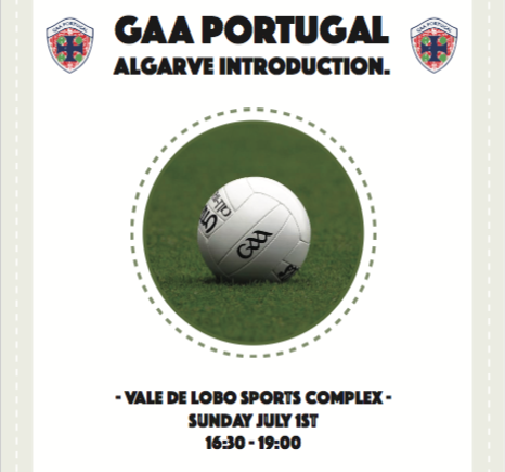 The first GAA training session in the Algarve